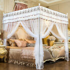 white canopy mosquito net for summer anti-mosquito netting bed nets embroidered