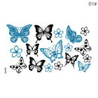 Large Full Arm Temporary Tattoo Sticker Beauty Decal Body Art Flowers UnisexCMX