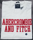 New 2018 Abercrombie & Fitch Men Heritage Applique Logo Graphic Tee T Shirt NWT