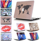 "2in1 Frosted Marble Ultra Slim Matte Hard Case Shell for MacBook Air 13"" A1466"