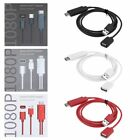 Type-C 8 Pin Micro USB to HDMI 1080P Cable Universal Adapter For Samsung iPhone