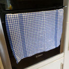Packs Big Large Professional Catering 100% Cotton Check Checked Tea Towels 65cm