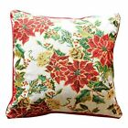 Tache Home Fashion Tapestry Floral Poinsettia Winter Holiday