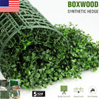 ULAND Artificial Boxwood Hedge Privacy Fence Screen Greenery Panels Garden Decor