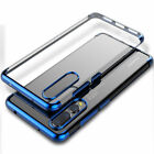 Plating Case For Huawei P20 Pro/P20Lite Shockproof Thin TPU Flexible Phone Cover
