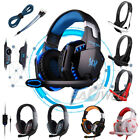 ps3 headset mic - 3.5mm Gaming Headset Mic Headphone Stereo Surround for PS3 PS4 Xbox ONE PC Phone