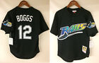 Wade Boggs Tampa Bay Devil Rays Mitchell  Ness 1998 Authentic Batting BP Jersey