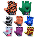 Junior Cycling Gloves Padded Bicycle Cycle BMX Gloves Children Youths Kids
