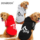 Large Big Size Dog Pet Hoodie Clothes Vest T-Shirt Coat Sweater For Big Dogs