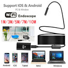 US 8 LED Wireless Waterproof Endoscope Inspection Camera For Apple Samsung Phone