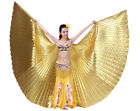 Gold Silver Exotic Belly Dance Colorful Belly Dance Big ISIS Wings Costume Props