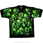 JUICY J STAY FLY-SKULL PILE-GLOW N DARK-2 Sd TSHIRT S-M-L-XL-2X-3X-4X-5X-6X SCOT