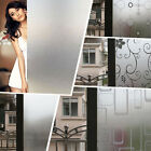 High Quality Waterproof Frosted Privacy Window Glass Cover Film Sticker 45x200CM