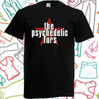 The Psychedelic Furs Rock Band Logo Men's Black T-Shirt Size S to 3XL image