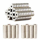 50pcs Countersunk Hole Rare Earth Neodymium NdFeB Strong Round Disk Ring Magnet