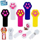 Pet Cat Dog Kitty Toy Cute Cat Paw Shape Teasing Cats Laser Red Dot LED Pointer