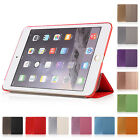 Ultra Thin PU Leather Smart Cover Stand Case Sleep Wake For iPad 9.7""