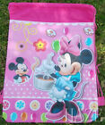 Disney Mickey Minnie Non-Woven Drawstring Bag Backpack For Kids Gift AAA