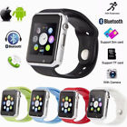 A1 Smart Watch Bluetooth Waterproof GSM SIM Phone Cam For Android Samsung iOS