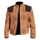 Han Solo A Star Wars Story Stylish Mens Suede Leather Jacket Best Quality $119.99 CAD on eBay