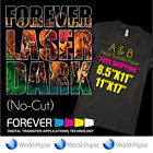 Forever Laser Dark-No-Cut A-PAPER  B-PAPER Heat-Transfer-Paper FREE SHIPPING