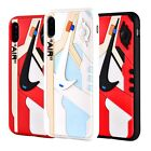 Внешний вид - Kicksmini® 3D Texture Off White AJ1 Chicago iPhone Cases Cover USA Seller