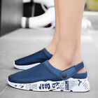 Fashion Men Shoes Garden Clogs Slippers Water Shoes Sandals Breathable Sneakers