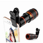 12x HD Optical Zoom Clip on Camera Lens Phone Telescope For Universal Cell phone