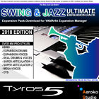 TYROS 5 - Swing & Jazz Styles Expansion Pack Download for YEM V2.5