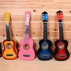 "21"" Wooden Beginners Kids Acoustic Guitar 6 String Children Gift Practice Music"