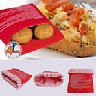 2 Pack New Potato Express Microwave Cooker Bags 4 Minutes Fast Reusable Washable