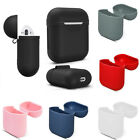 Silicone Shock Proof Protective Case Cover Slim Skin For Apple AirPods Earphones