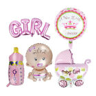 5pcs Its A Boy / Girl Letters Foil Balloons DIY Baby Shower Birthday Party Decor