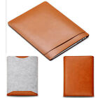 "Pale Brown Woolen Felt Laptop Sleeve Bag Cover for MacBook AIR PRO 11"" 13"" 15"""