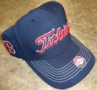 New Titleist Golf MLB BOSTON RED SOX Fitted Ball Cap Hat, NAVY, M/L or L/XL