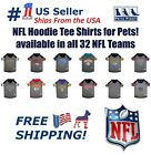 NFL Hoodie Tee Shirt for Dogs & Cats - COOL T-Shirt, 32 Teams, 4 sizes available $18.74 USD on eBay