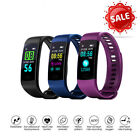 Y5 Blood Pressure/Oxygen Heart Rate Monitor Smart Watch Bracelet Fitness Tracker