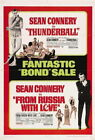 67983 From Russia with Love Movie ean Connery FRAMED CANVAS PRINT AU $39.95 AUD on eBay