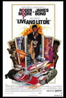 65348 Live and Let Die Movie Roger Moore, Jane Seymour FRAMED CANVAS PRINT Toile $30.0 CAD on eBay