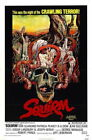 70606 Squirm Movie Don Scardino, Patricia Pearcy FRAMED CANVAS PRINT Toile