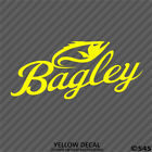 Bagley Fishing Baits/Lures Outdoor Sports Vinyl Decal Sticker - Choose Color