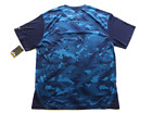 Spalding Mens Size L or XL Navy Blue Camoflauge Back Dri-Power Active Shirt New