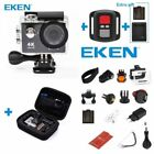Original EKEN H9R 4K Wifi Action Camera Underwater 30M Sports Camcorder 170° US <br/> Extra Bag Battery Charger Gift! Full Test! US Stock!