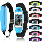 For iPhone Samsung Sport Outdoor Running Gym Waist Belt Bag Cover Case Pouch
