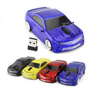 Portable 1600DPI Chevrolet 2.4G Wireless USB car mouse optical Computer PC Mice