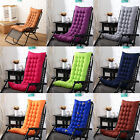 US Chair Cushion Tufted Deck Chaise Padding For Outdoor Patio Pool Recliner