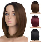 how to do ombre on red hair - New Synthetic Short Bob Hair Ombre Straight Wig Side Part Women Fashion Wigs USA