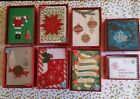 8 Papyrus Handmade Christmas Cards in Box & Notes Set NEW in Box - You Chosen!