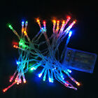 2~10mCotton Ball Fairy Led String Lights Wedding Party Christmas Battery Powered