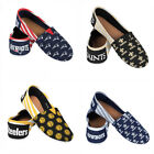 NFL Women's Canvas Stripe Shoes - Pick Team